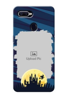 Realme U1 Back Covers: Halloween Witch Design