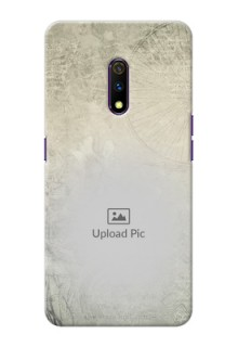 Realme X custom mobile back covers with vintage design