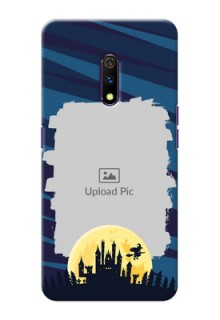Realme X Back Covers: Halloween Witch Design