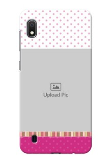 Galaxy A10 custom mobile cases: Cute Girls Cover Design