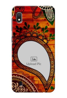 Galaxy A10 custom mobile cases: Abstract Colorful Design