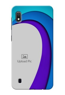 Galaxy A10 custom back covers: Simple Pattern Design