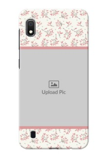 Galaxy A10 Back Covers: Premium Floral Design