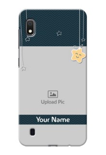 Galaxy A10 Mobile Back Covers Online: Hanging Stars Design