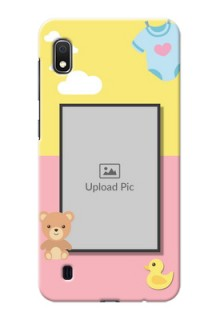 Galaxy A10 Back Covers: Kids 2 Color Design