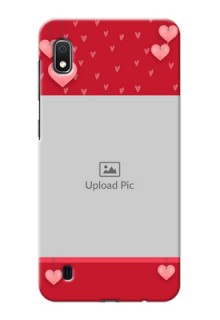 Galaxy A10 Mobile Back Covers: Valentines Day Design