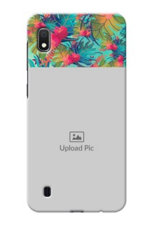 Galaxy A10 Personalized Phone Cases: Watercolor Floral Design