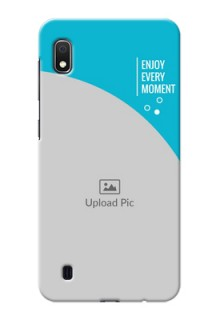Galaxy A10 Personalized Phone Covers: Happy Moment Design