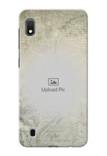 Galaxy A10 custom mobile back covers with vintage design