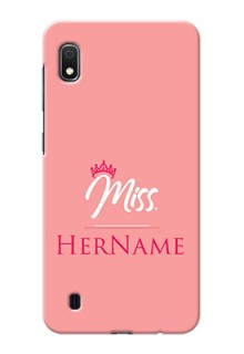 Galaxy A10 Custom Phone Case Mrs with Name