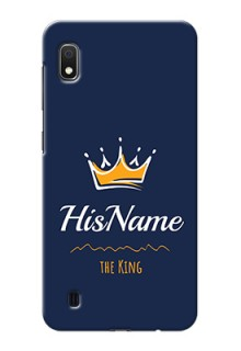 Galaxy A10 King Phone Case with Name