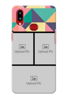 Galaxy A10s personalised phone covers: Bulk Pic Upload Design