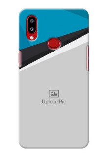 Galaxy A10s Back Covers: Simple Pattern Photo Upload Design