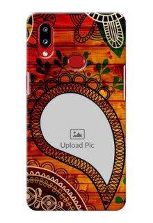 Galaxy A10s custom mobile cases: Abstract Colorful Design