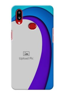 Galaxy A10s custom back covers: Simple Pattern Design