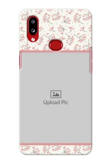 Galaxy A10s Back Covers: Premium Floral Design