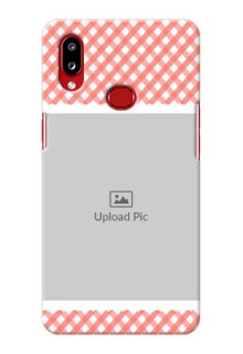 Galaxy A10s custom mobile cases: Pink Pattern Design