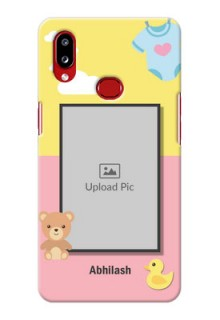 Galaxy A10s Back Covers: Kids 2 Color Design