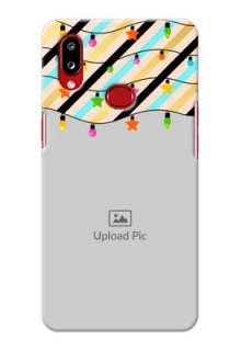 Galaxy A10s Personalized Mobile Covers: Lights Hanging Design