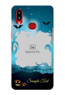 Galaxy A10s Personalised Phone Cases: Halloween frame design
