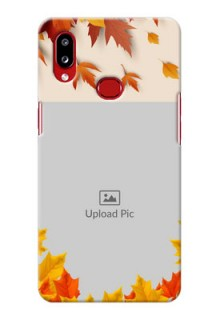 Galaxy A10s Mobile Phone Cases: Autumn Maple Leaves Design