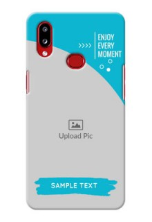Galaxy A10s Personalized Phone Covers: Happy Moment Design