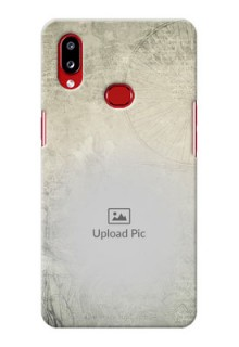 Galaxy A10s custom mobile back covers with vintage design