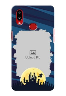 Galaxy A10s Back Covers: Halloween Witch Design