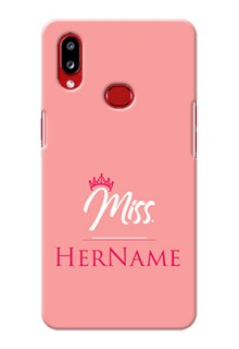 Galaxy A10S Custom Phone Case Mrs with Name