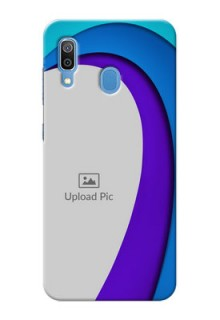 Galaxy A20 custom back covers: Simple Pattern Design