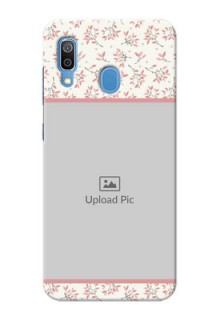 Galaxy A20 Back Covers: Premium Floral Design