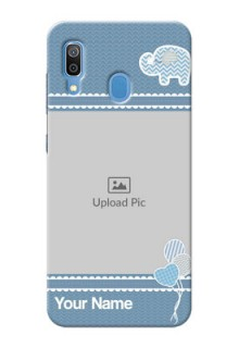 Galaxy A20 Custom Phone Covers with Kids Pattern Design