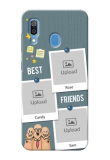 Galaxy A20 Mobile Cases: Sticky Frames and Friendship Design