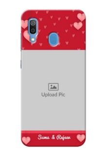 Galaxy A20 Mobile Back Covers: Valentines Day Design