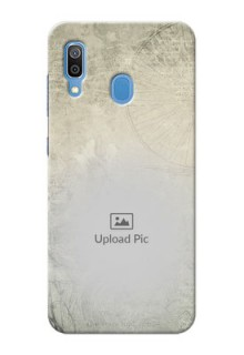 Galaxy A20 custom mobile back covers with vintage design