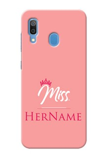 Galaxy A20 Custom Phone Case Mrs with Name