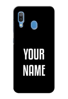 Galaxy A20 Your Name on Phone Case