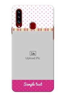 Galaxy A20s custom mobile cases: Cute Girls Cover Design
