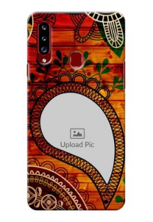 Galaxy A20s custom mobile cases: Abstract Colorful Design