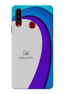 Galaxy A20s custom back covers: Simple Pattern Design