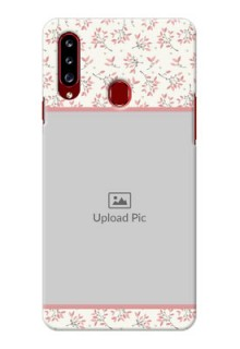 Galaxy A20s Back Covers: Premium Floral Design
