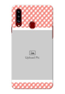 Galaxy A20s custom mobile cases: Pink Pattern Design