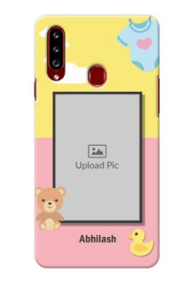 Galaxy A20s Back Covers: Kids 2 Color Design