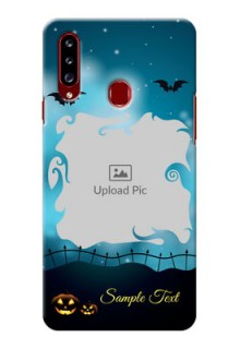 Galaxy A20s Personalised Phone Cases: Halloween frame design