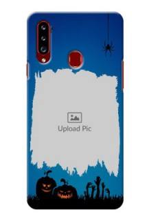 Galaxy A20s mobile cases online with pro Halloween design