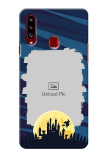 Galaxy A20s Back Covers: Halloween Witch Design