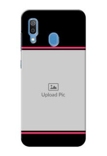 Samsung Galaxy A30 Mobile Covers With Add Text Design