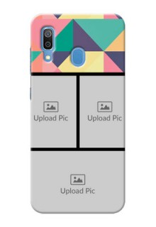 Samsung Galaxy A30 personalised phone covers: Bulk Pic Upload Design