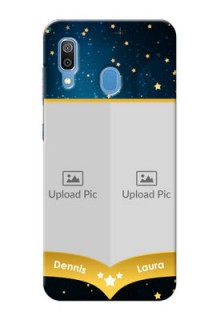Samsung Galaxy A30 Mobile Covers Online: Galaxy Stars Backdrop Design