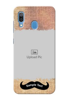 Samsung Galaxy A30 Mobile Back Covers Online with Texture Design